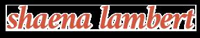 Shaena Lambert logo image