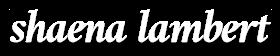 Shaena Lambert Logo
